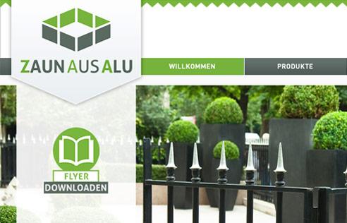 Vorschaubild: Zaun aus Alu